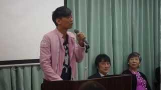 香港出身俳優のジェフリーが、ホリプロ契約時の秘蔵映像です。 緊張しな...