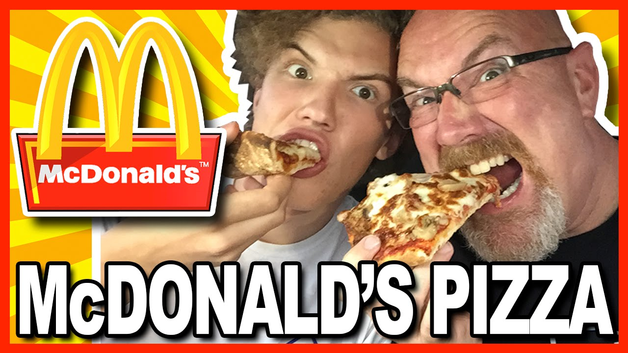 McDonald's PIZZA - McPIZZA