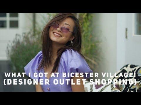 Bicester Village Outlet Shopping & What I Got (Gucci, Saint Laurent, Dior, Prada) | Wenwen Stokes