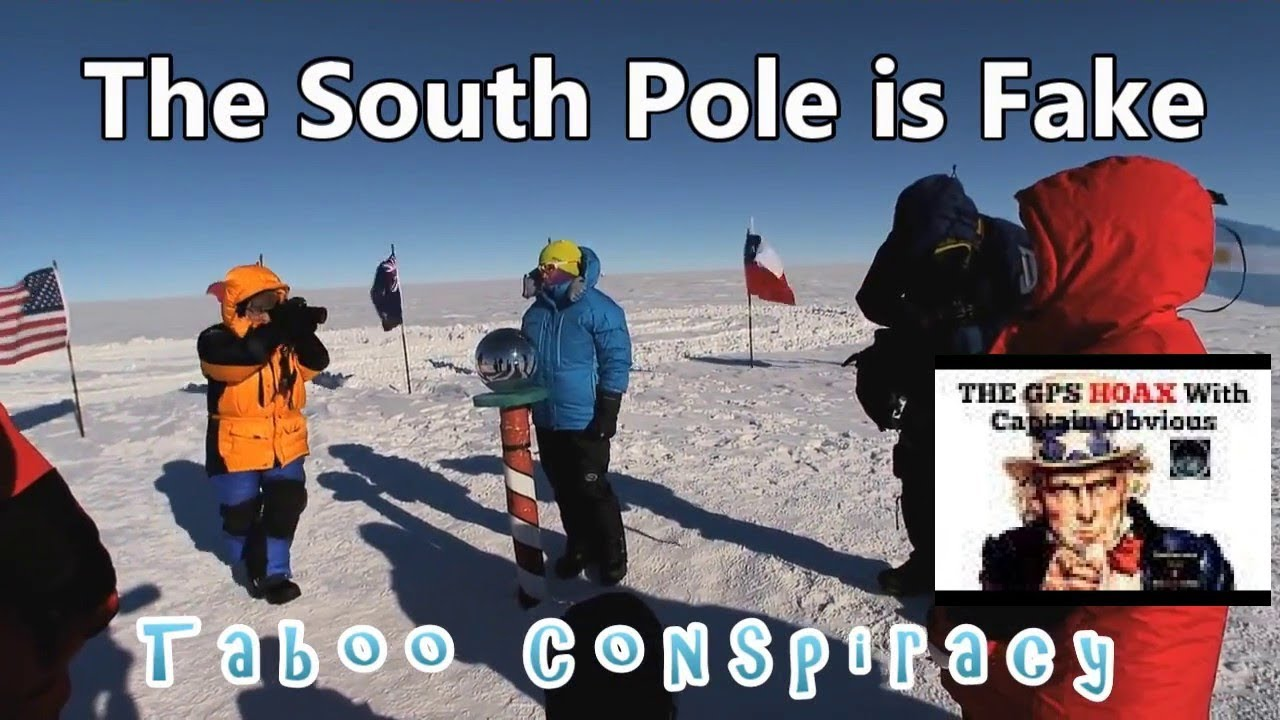 South Pole Debunked - Flat Earth Wins Again! (Captain Obvious Re-Upload)