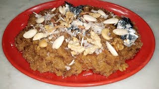 Makhandi Halwa Recipe - Winter Special - By Cooking With Shabana