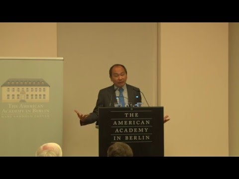 Francis Fukuyama: Democracy's Failure to Perform