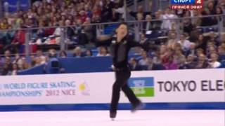 2011   2012   Worlds   Men   LP   Daisuke Takahashi   Blues for Klook by Eddy Louiss