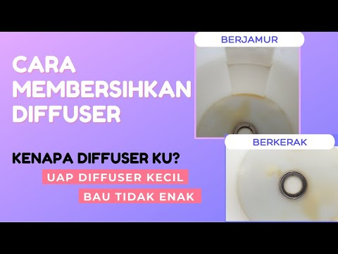 Cara membersihkan How to clean the diffuser Desert Mist Young Living