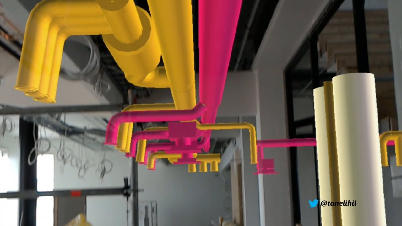 Microsoft Office Trial >> Microsoft HoloLens: BIM on the construction site - YouTube