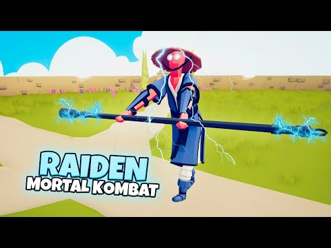 RAIDEN (Mortal Kombat) vs EVERY FACTION | TABS Totally Accurate Battle Simulator Gameplay |