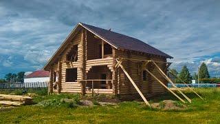 видео Проекты домов из оцилиндрованного бревна с ценами в Самаре