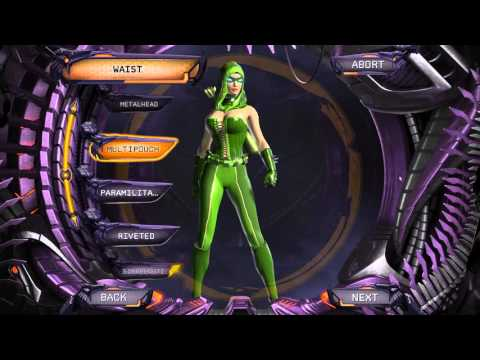 DC Universe Online - Sexy Character Creation - Green Arrrow (Female)