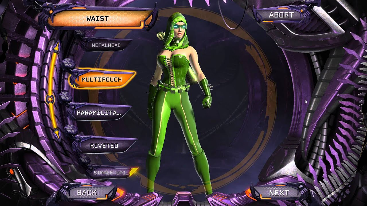Sexy female superhero green lantern absolutely assured