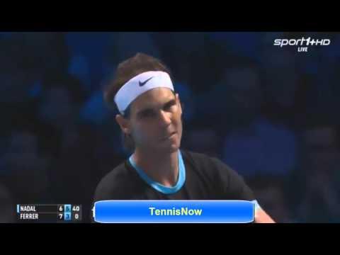 Rafael Nadal vs David Ferrer ATP WTF 2015 Highlights