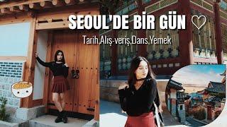 SEUL'DA BİR GÜN! | Gyeongbokgung, Bukchon Hanok Köyü, Hongdae...