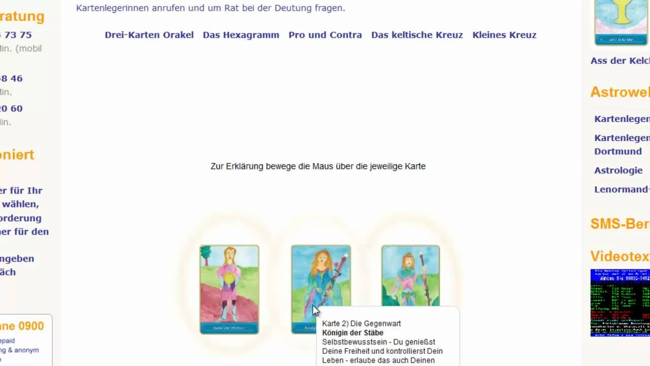 Kostenlos Online Kartenlegen