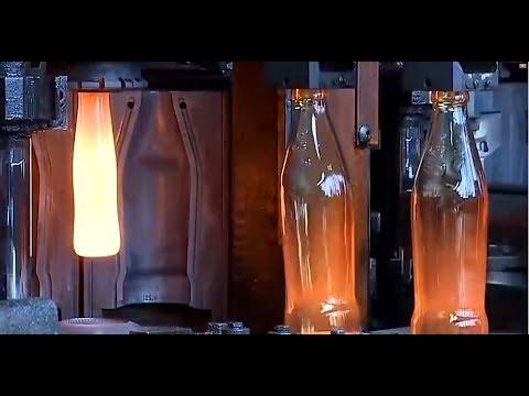 Невероятное производство стеклянных бутылок!🍼