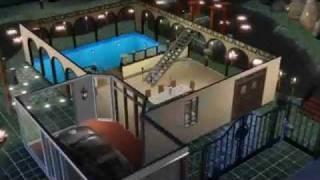 Sims 3 - Visite virtuelle Maison moderne, design, contemporaine