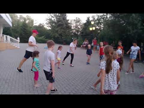 Мы танцуем буги-вуги!!! Пансионат Автомобилист!!!Карина с Аркашей танцуют!