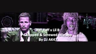 13. Lil B x Lil Wayne - Viva La White Girl Mashup C&S by DJ AK47