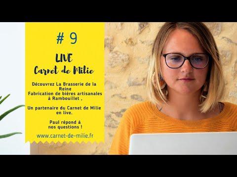 Live#9 CarnetdeMilie & La Brasserie de La Reine