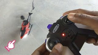 Let's Fly V-max HX713 Helicopter (Unboxing & testing)
