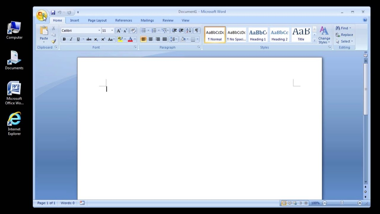 download cover page for ms word 2007