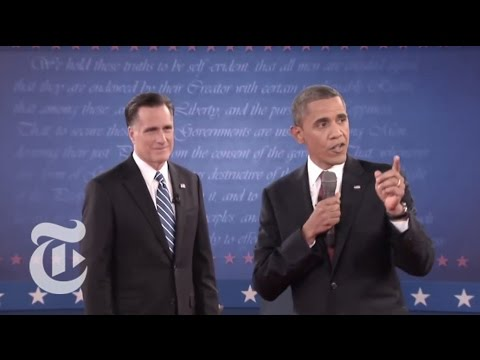 Election 2012 | Highlights of the Second Presidential Town Hall Debate | The New York Times
