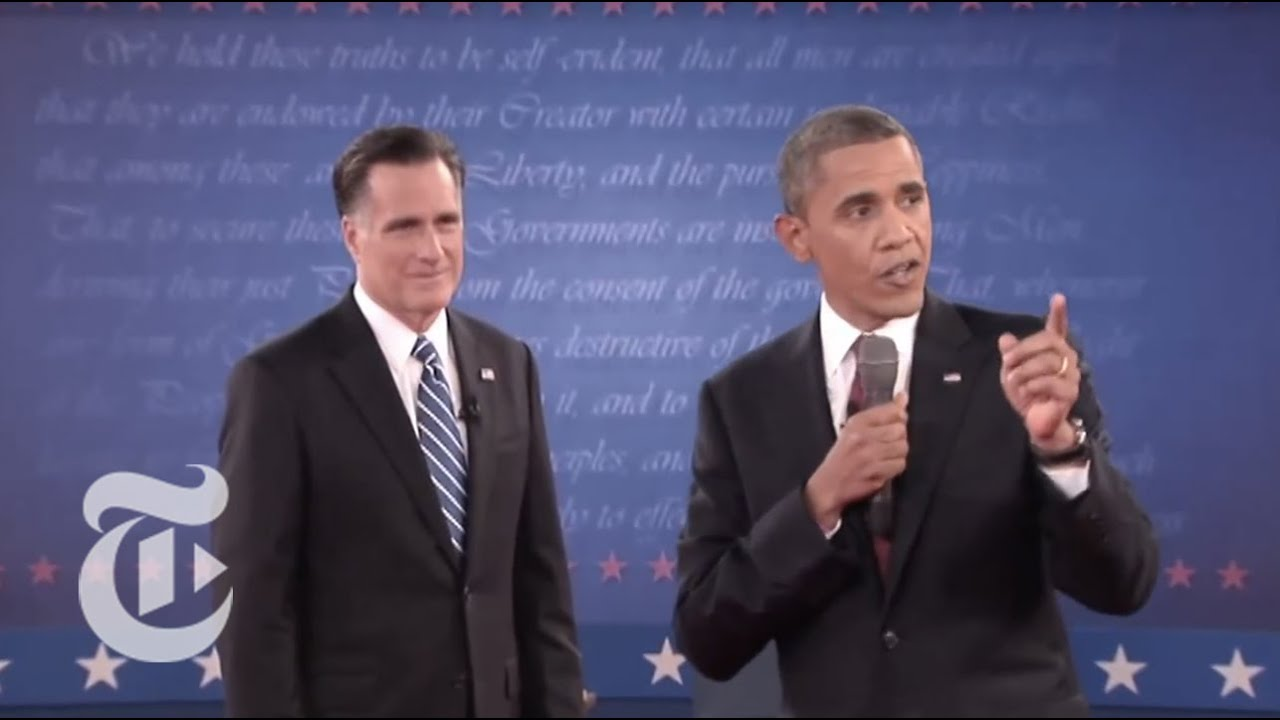 Election 2012 | Highlights of the Second Presidential Town ...