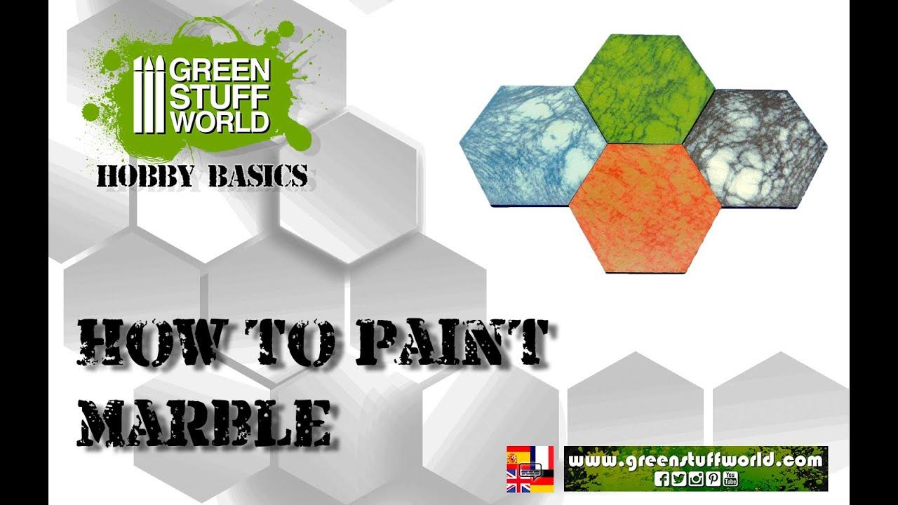 Hobby Basics : How to paint marble
