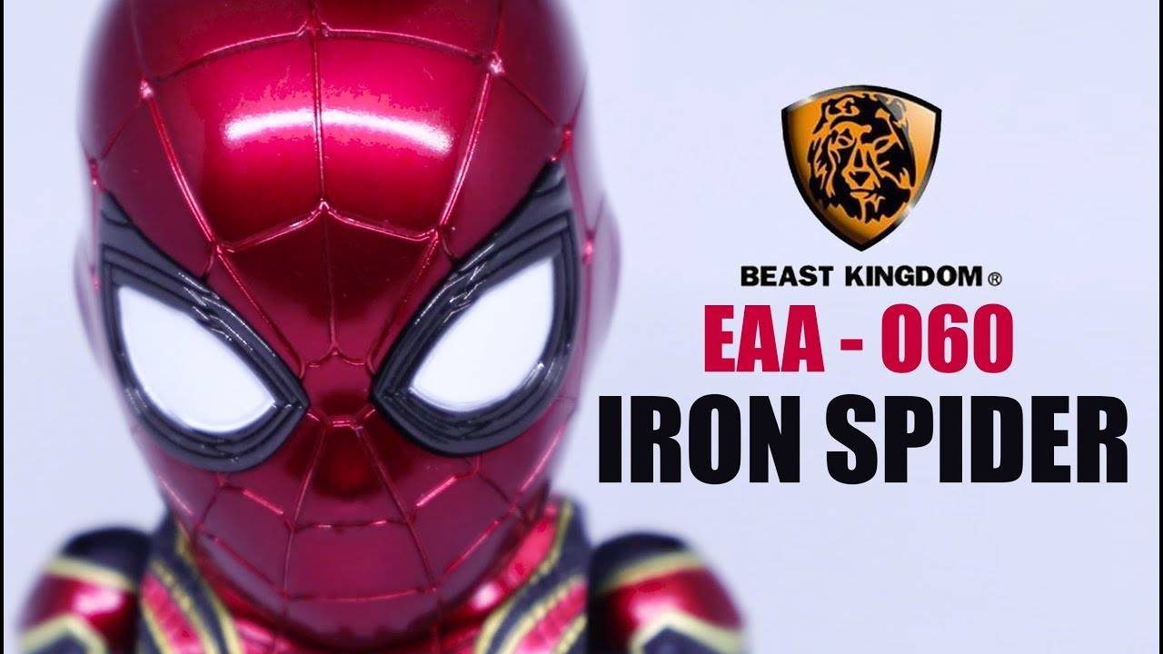 Review 63 Iron Spider Egg Attack Action Beast Kingdom