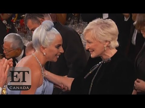 Glenn Close Beats Lady Gaga At The Golden Globes