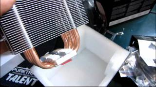 corsair a70 high performance cpu dual 120mm fan air cooler unboxing first look linus tech tips