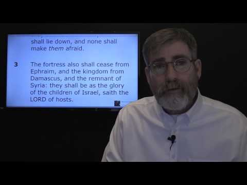 Damascus Falling Victim to Isaiah's Prophecy