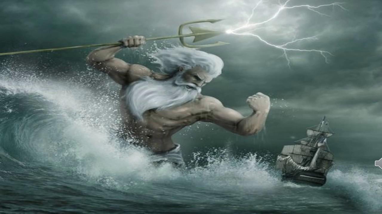 MITOLOGÍA GRIEGA El Mito de Poseidón