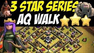 3 star series epic aq walk th9 w goho attack strategy   clash of clans