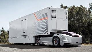 Volvo представила автономный грузовик без кабины