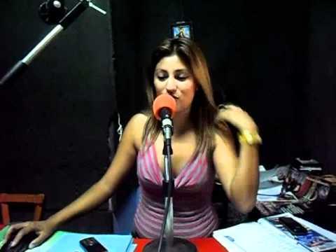 Katty Valencia la flaka en radio amazonas