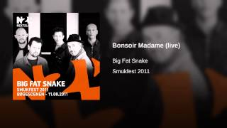 Bonsoir Madame (live)