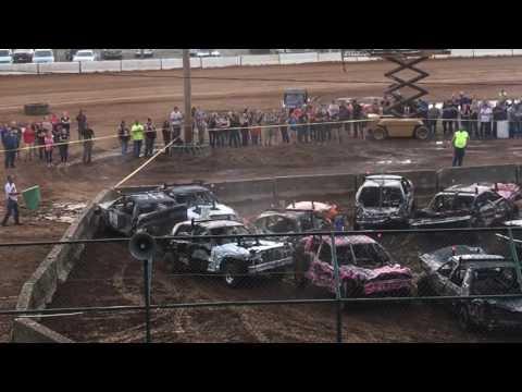 Salem, Indiana 2017 County Fair Demolition Derby