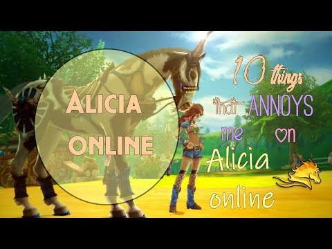 10 things that annoys me on Alicia Online [Magic]