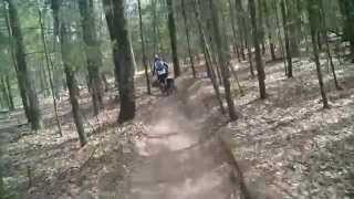north loop of cedar creek orv trail muskegon mi part 1