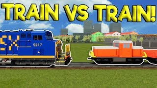 THE BIGGEST LEGO TRAIN CRASHES IN LEGO CITY! - Brick Rigs Gameplay - Lego Train Simulator Crashes