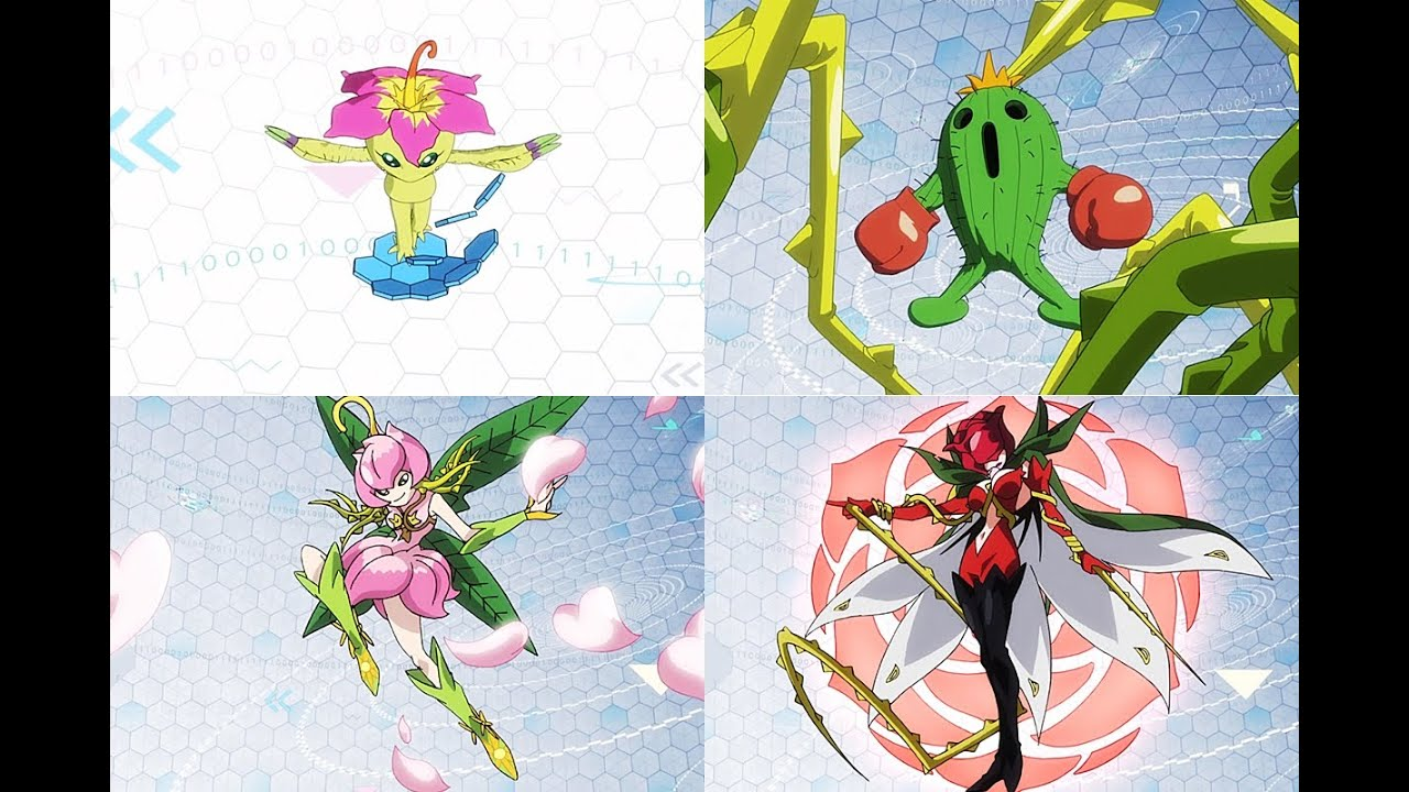 digimon palmon evolution - photo #42