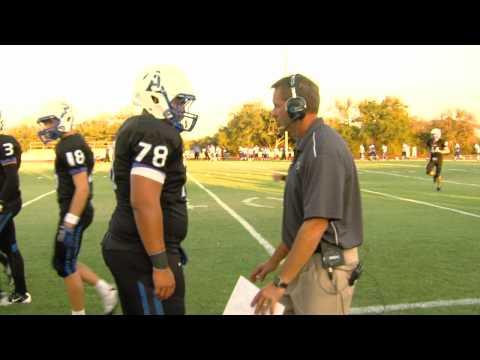 Ty Detmer coaching high school football