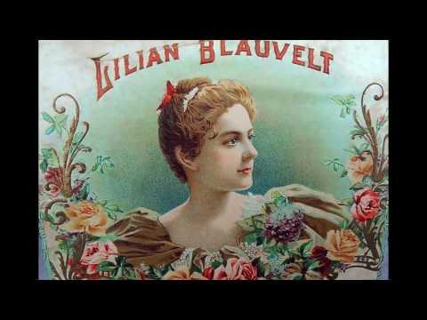 Third 'RED SEAL'  artist Lillian BLAUVELT:  Merci jeunes amies (1903)