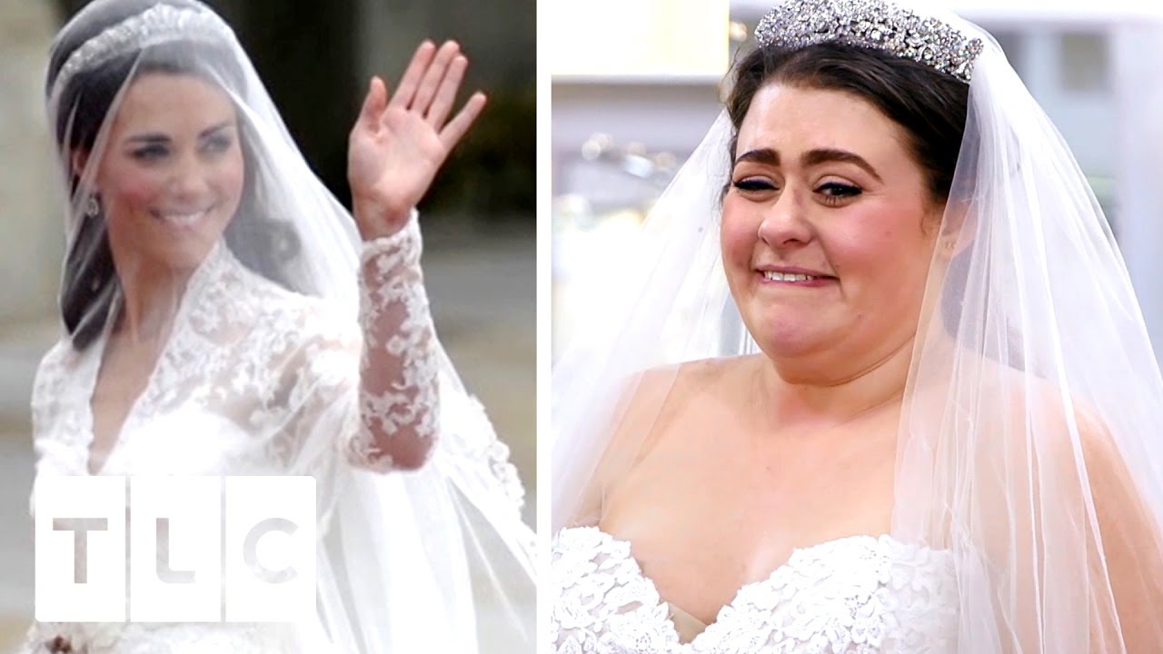 Bride Wants To Look Like Kate Middleton!