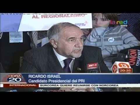 Ricardo Israel Del PRI Inscribió Su Candidatura Presidencial
