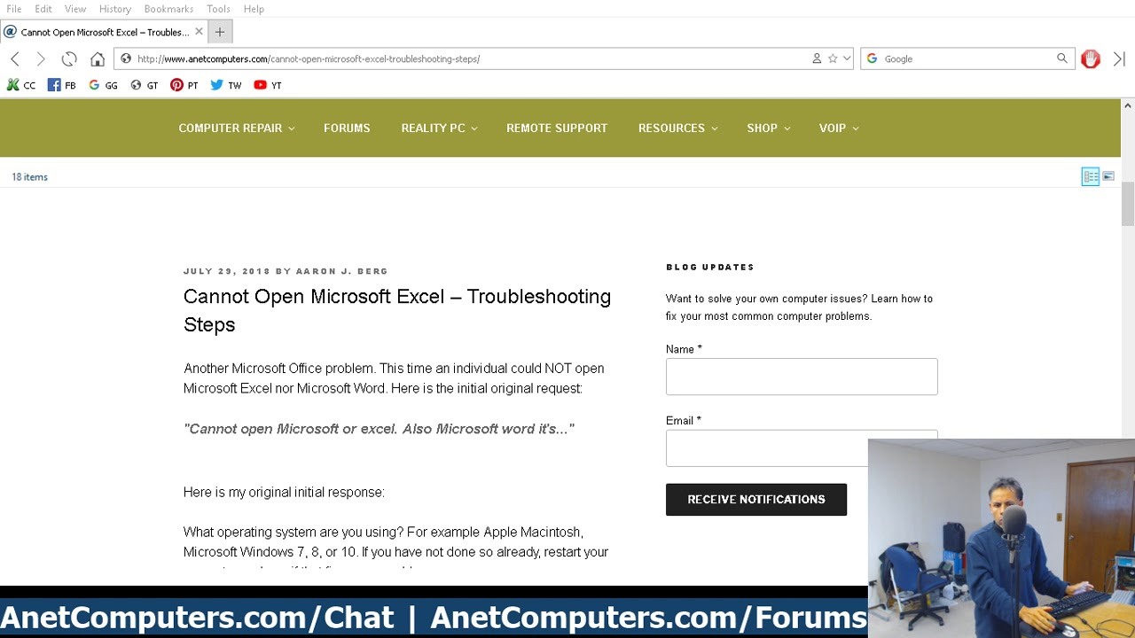 Software Problems – ANET COMPUTERS