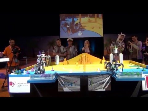 2016 - Iron crabs 37 vs 71 PM-ROBOTIX - Match n°5 - Coupe de France Robotique 2016