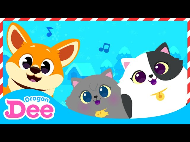 Baby Animals Christmas Medley   Click the link below 👇🏻 to enjoy the new Dragon Dee channel