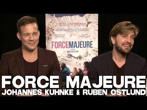 FORCE MAJEURE (TURIST) Full Interview with Ruben Östlund & Johannes Bah Kuhnke