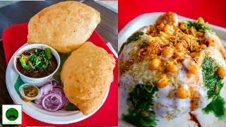 I ate all the menu at Haldiram Breakfast Part 02 Chole Bhature, Raj Kachori and More