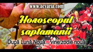 ⭐ HOROSCOPUL SAPTAMANII 16-22 NOIEMBRIE 2020 ⭐prezentat de astrolog ACVARIA